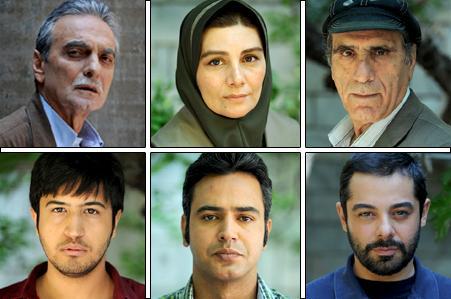 هنگامه قاضیانی و مهرداد صدیقیان در محصول تازه سینمای ایران به کارگردانی رضا سبحانی