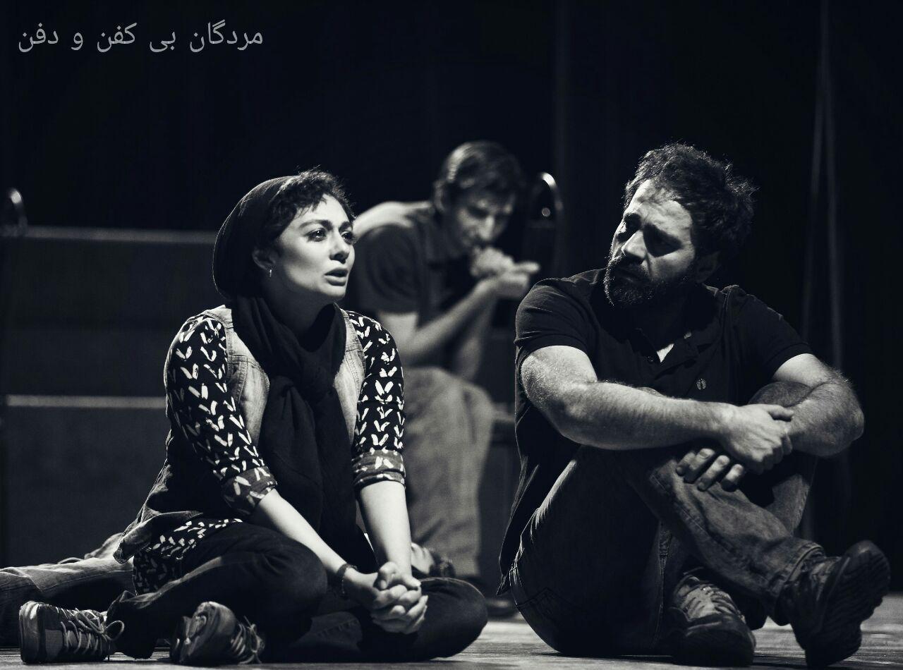 آرش مجیدی  به تئاتر مرده های بی کفن و دفن پیوست