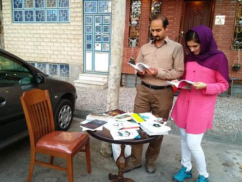 کتابخوانی در خیابان بوکتاب!