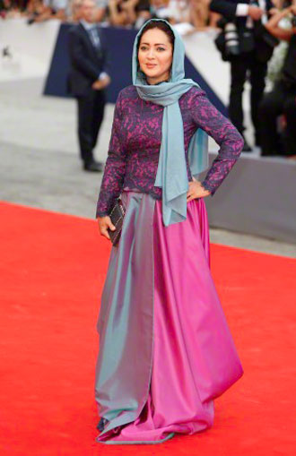 نیکی کریمی در جشنواره ونیز ایتالیا
