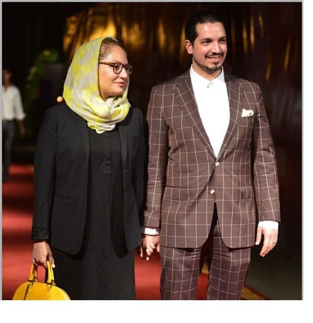 """مهناز افشار و همسرش در """"جشن روز ملی سینما"""""""